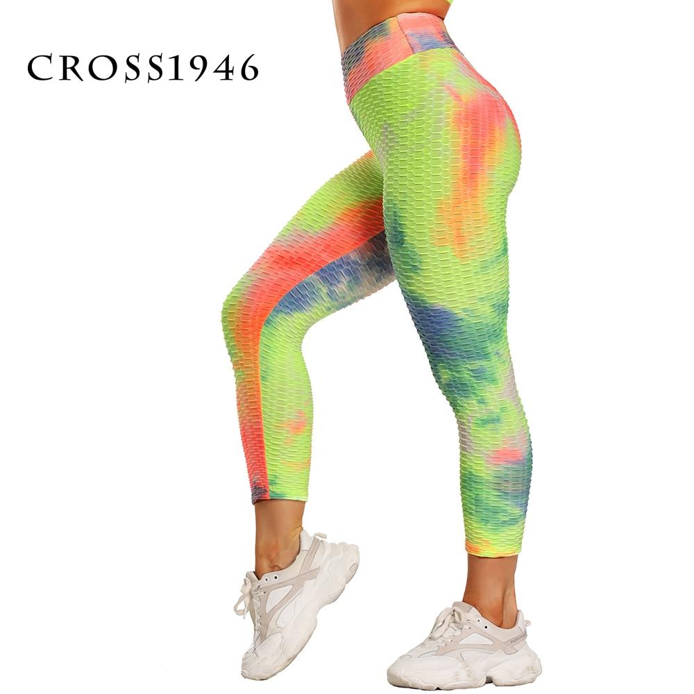 Hot Women Capri Yoga Pants Sexy Sport leggings Scrunch Butt Tights Gym Exercise High Waist Fitness Running Athletic Trousers