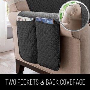 Image 4 - Секционные чехлы для диванов, детские коврики для собак, эластичные чехлы для диванов, защита для мебели, водонепроницаемость, противоскользящие