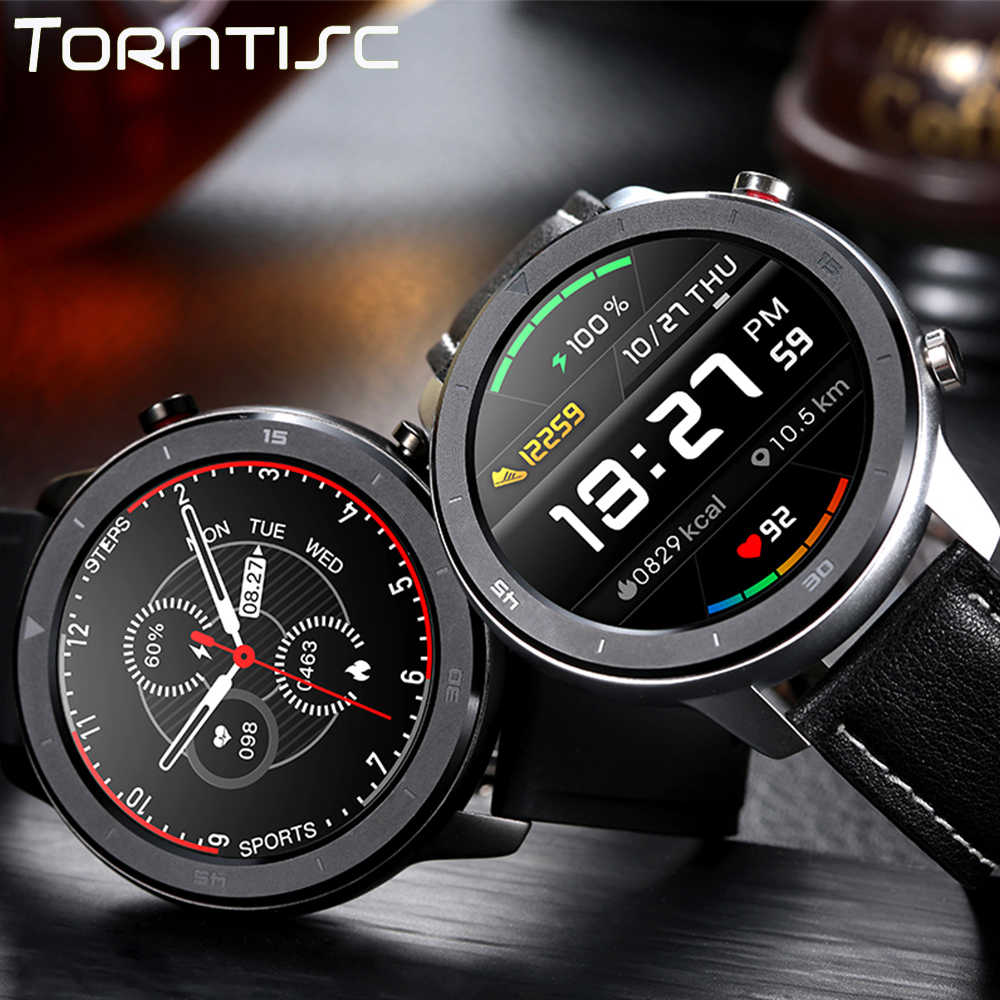 Torntisc Smart Watch Men Heart Rate Monitor Blood Pressure Oxygen Full Round Touch Screen For Huawei Watch GT 2 Smartwatch
