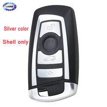 4 Buttons Replacement Smart Key Shell For BMW CAS4 F 3 5 7 Series E90 E92 E93 X5 F10 F20 F30 F40 Remote Car Key Case