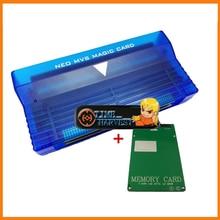 NEO GEO MVS в AES адаптер NeoGeo MVS 161 в 1 картридж конвертировать в AES конвертер плата преобразователя для NEO GEO AES консольный блок