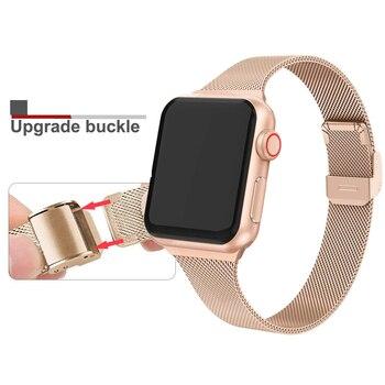 Браслет металлический для Apple Watch 38-42 мм 4