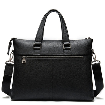 Leather Laptop Briefcases Bags for Men Genuine Leather Briefcase Male Totes Business Document Bag Men Messenger Bags