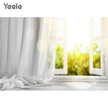 Yeele Nhà Trắng Màn Cửa Sổ Nắng Nội Thất Chụp Ảnh Nền Tùy Chỉnh Chụp Ảnh Phông Nền Cho Studio Ảnh