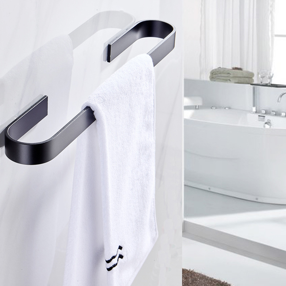 ßCloseout DealsShelf Towel-Rack Toilet Kitchen-Accessories Wall-Hanging Bathroom U-Shaped-Widened Perforated-Free»