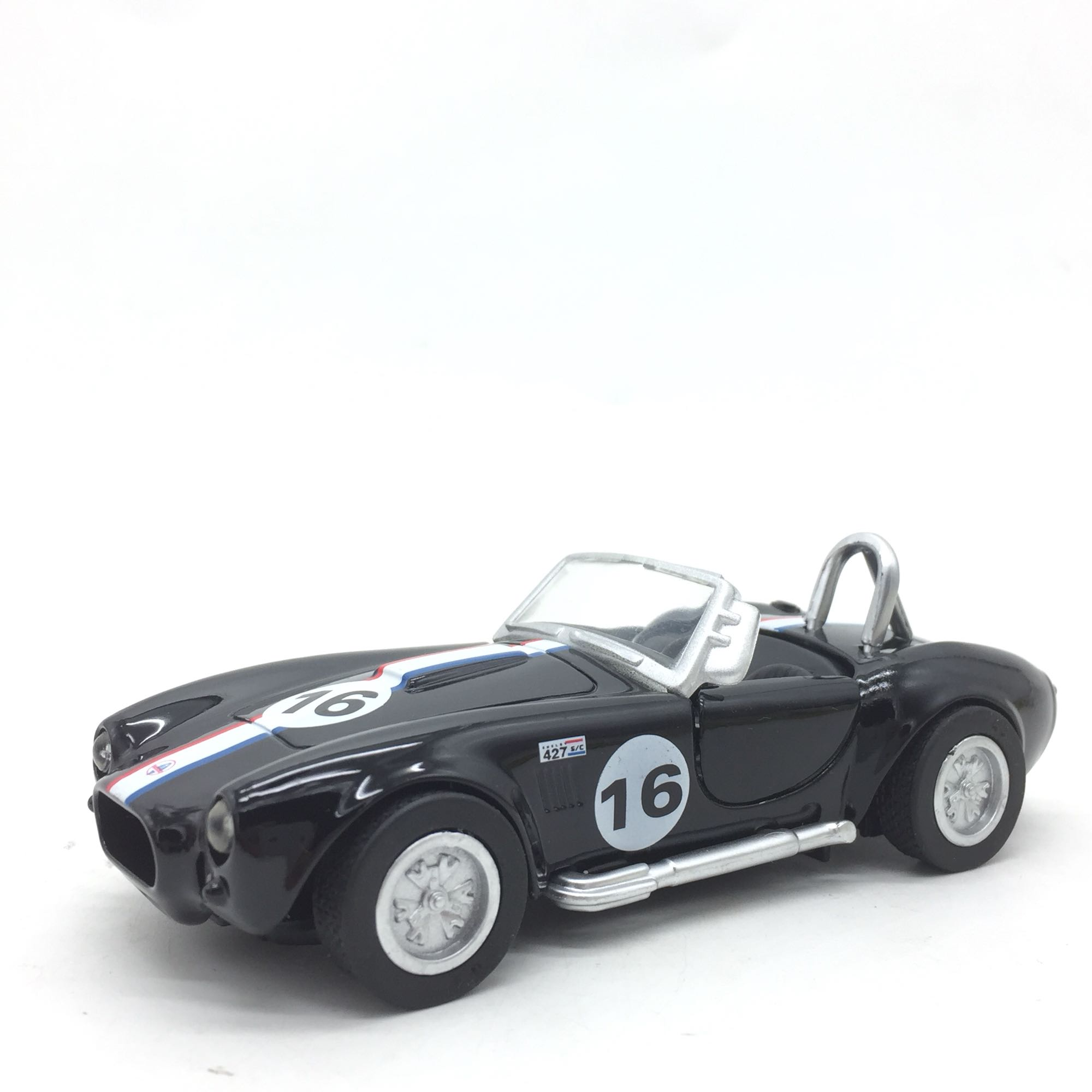 RD 1/32 Scale Racing Car Model Toys Shelby Cobra 427S/C NO.16 Diecast Metal Car Model Toy For Gift,Kids,Collection