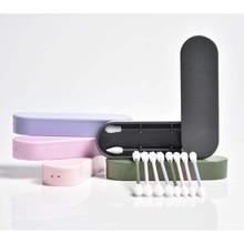 1 шт/2 шт многоразовые ватные палочки для чистки ушей Косметические Силиконовые палочки для чистки макияжа и касания дропшиппинг