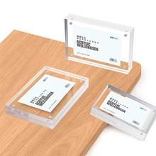 100*70 мм магнитный акриловый блок рамка для этикеток держатель