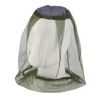 Freien Angeln Cap Anti Moskito Bug Bee Insekt Mesh Hut Kopf Gesicht Schützen Net Abdeckung Reise Camping Ausrüstung-in Fischermütze aus Sport und Unterhaltung bei