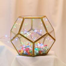 Геометрическая коробка для детей прозрачная звезда цветок украшение