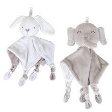 Towel Baby Blanket Bib Plush-Doll Animal Girls Security Kids Boys Cartoon