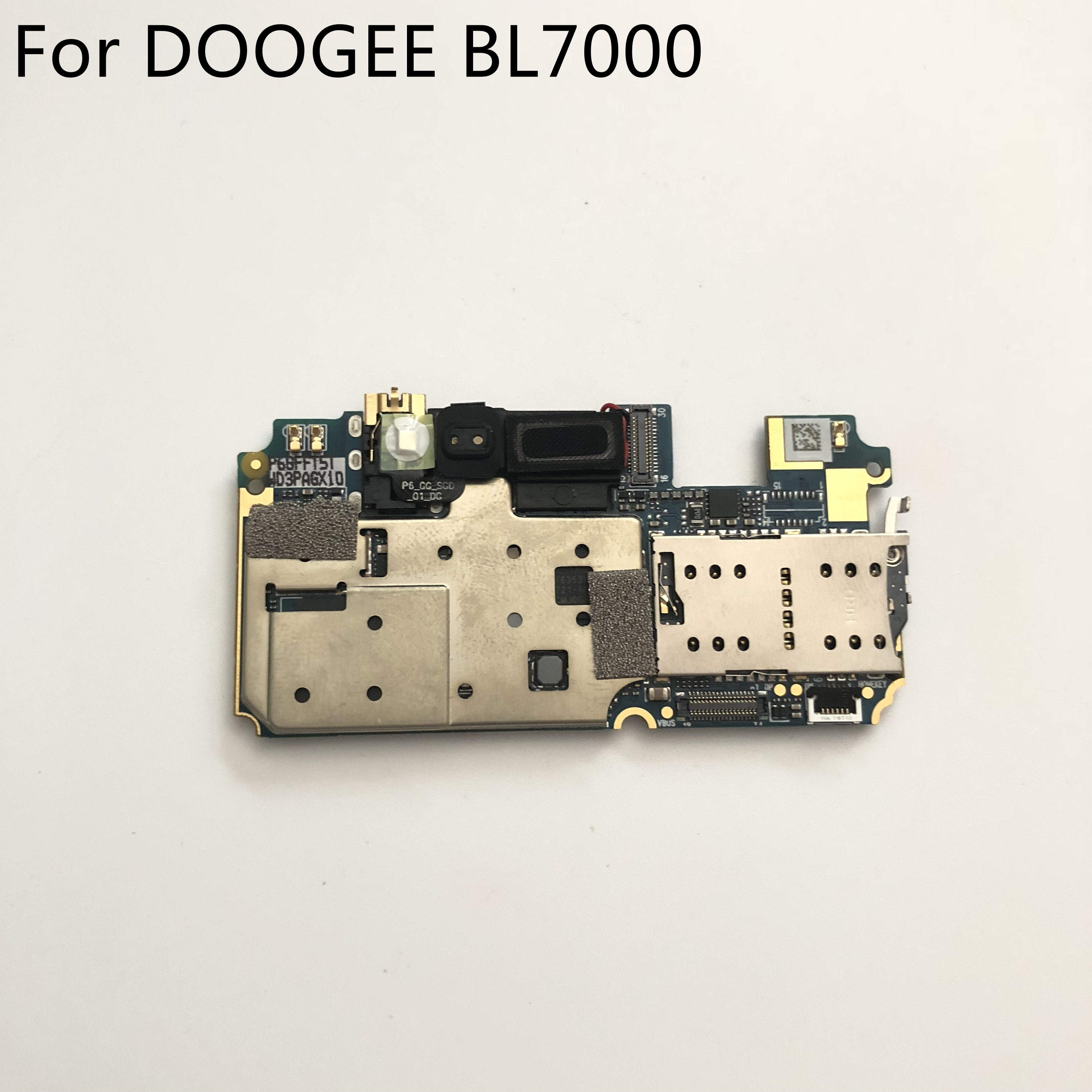 Used DOOGEE BL7000 Mainboard 4G RAM+64G ROM Motherboard For DOOGEE BL7000 MTK6750T Octa Core 5.5'' FHD 1920x1080