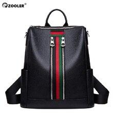 2019 Genuine Leather bag backpack women COW leather backpacks elegant soft school bag travel tote bags high quality Bolsas#LT282 цены онлайн