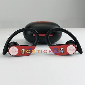 Image 4 - YCSTICKER Più Nuovo Bluetooth Cuffia Sticker Per Batte Powerbeats Pro a prova di Polvere Protettiva e Decorativa del Trasduttore Auricolare Della Copertura Della Pellicola