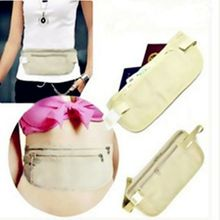 Invisible Travel Waist Packs Waist Pouch for Passport Money Belt Bag Solid Travel Hidden Security Wallet Casual Gifts