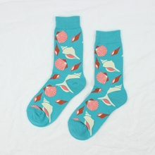 Womens Cotton Socks Cartoon Animal Pattern New Personality Literary Ladies Tide 2019 Popular Cute