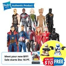"""Hasbro Marvel Мстители Бесконечность войны Starforce супер герой 1"""" эндшпиль Титан герой серии человек паук Железный человек енот Доктор Стрэндж"""
