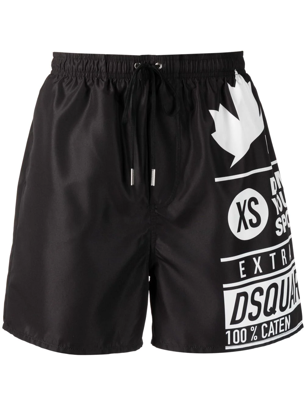 2021 Summer New Men's DSQ2 Casual Sports Shorts Trendy Fashion Stretch Beach Pants Breathable And Quick Drying Five Point Pants