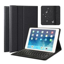 PU Leather Bluetooth Keyboard Case For iPad 9.7 2018 2017 / Air 2 1 Cover Multiple Folio Stand for