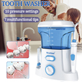 Nicefeel 600ml Wasser Dental Flosser Elektrische Munddusche Care Dental Flosser Wasser Zahnbürste Dental SPA mit 7 stücke Tipps weiß