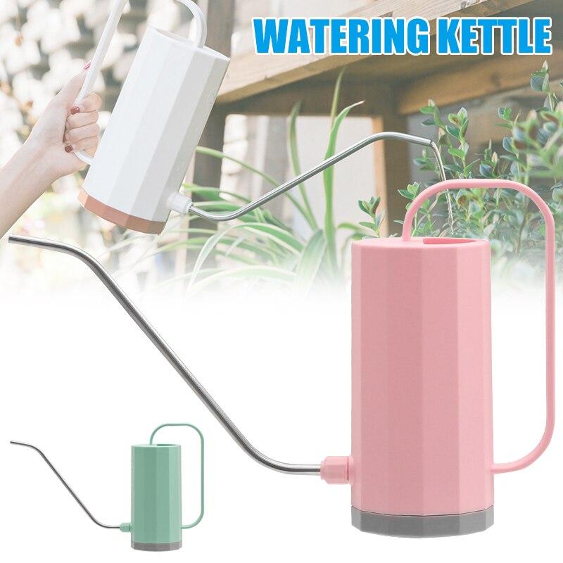 Горшок для полива цветов с длинным ртом, садовый бонсай с чайником, инструмент TN99|Канистры для воды|   | АлиЭкспресс
