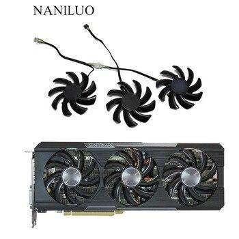 3 шт./компл. FDC10H12S9-C R9 290 Tri-X OC GPU VGA кулер вентилятор для Sapphire 390 8G PRO 390X8G D5 охлаждение д