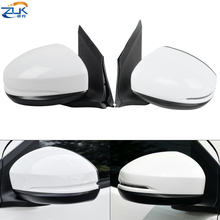 ZUK Left Right Outer Rearview Side Mirror Assy For HONDA CITY GM6 2015 2016 2017 2018 3 PINS Without LED / 5 PINS With LED Light