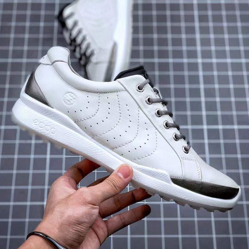 Golf Shoes Men Athletics Brand Training Sneakers Genuine Leather Golf Boots for Men Comfortable Brand White Sneakers Golfer Walk