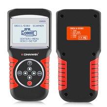 цена на KONNWEI KW820 Car Auto EOBD OBD2 OBDII Scanner Diagnostic Tool Engine Fault Code Reader Automotive Diagnostic Scanner Tool