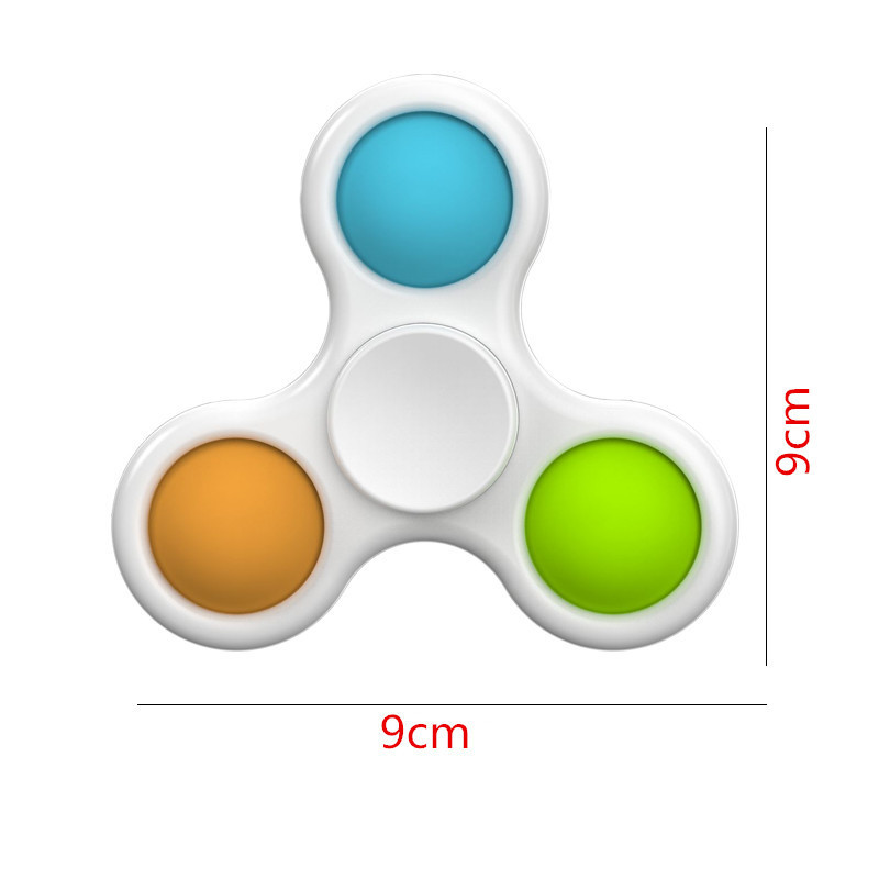 Simple Dimple Fidget Spinner Toys Anti Stress Relief Brain Toy Hand Fidget Toys For Kids Adults Early Educational Autism img5