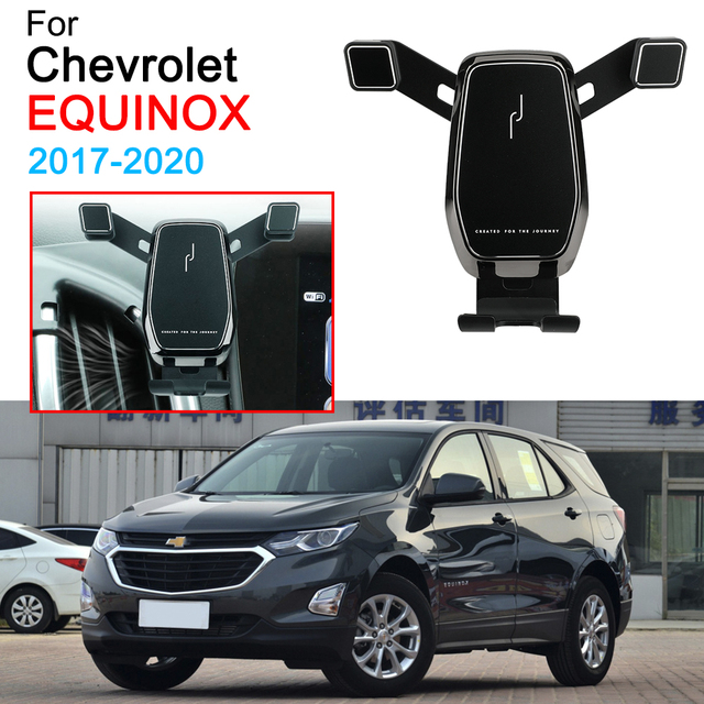 Car Mobile Phone Bracket Air Vent Mount Call Phone Holder Support for Chevrolet Equinox Accessories 2017 2018 2019 2020