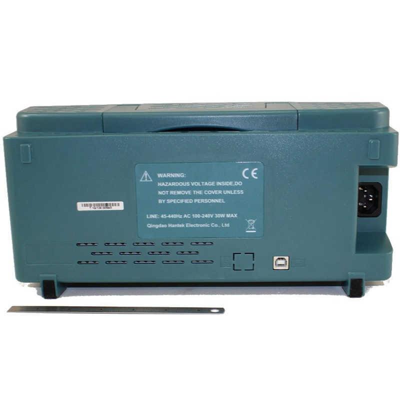 Oscilloscope numérique Hantek DSO5202P 200MHz bande passante 2 canaux 1GSa/s 7 pouces TFT LCD PC Oscilloscope Portable USB