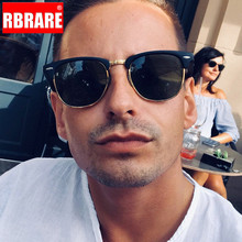 RBRARE Semi-Rimless Brand Designer Sunglasses Women/Men Pola