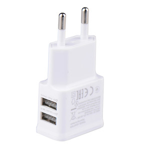 5V 2A Universal Power Adapter USB Double USB Mobile phone charger AC DC 5V Power Adpater Supply Charger For iphone ipad ipod