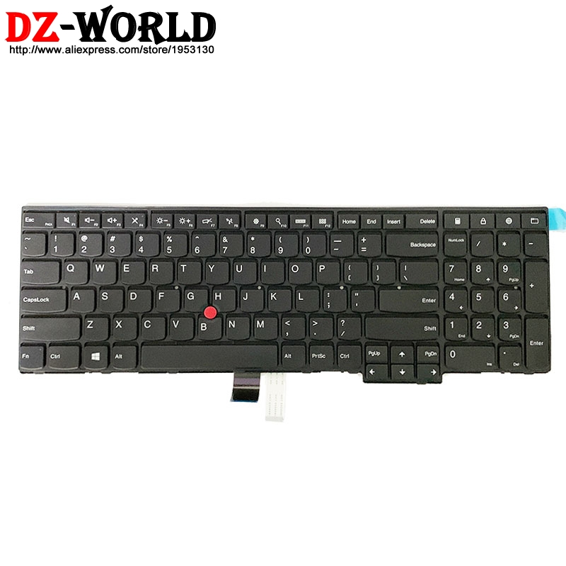US English New Keyboard For Lenovo Thinkpad W540 T540P W541 T550 W550S L540 L560 E531 E540 P50S T560 Laptop 04Y2426