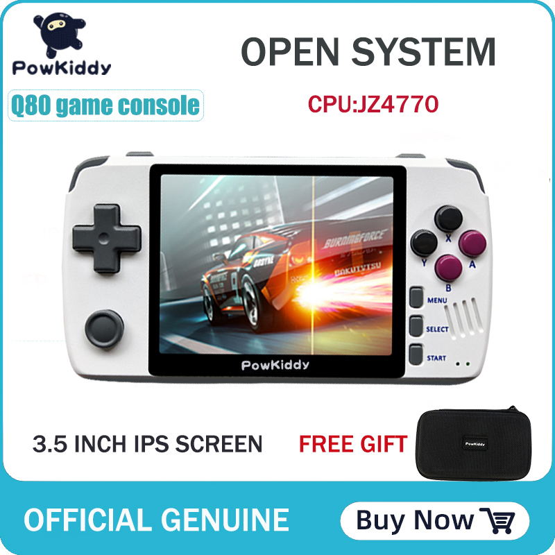 Powkiddy q80 Retro video Game Console Handset 3.5