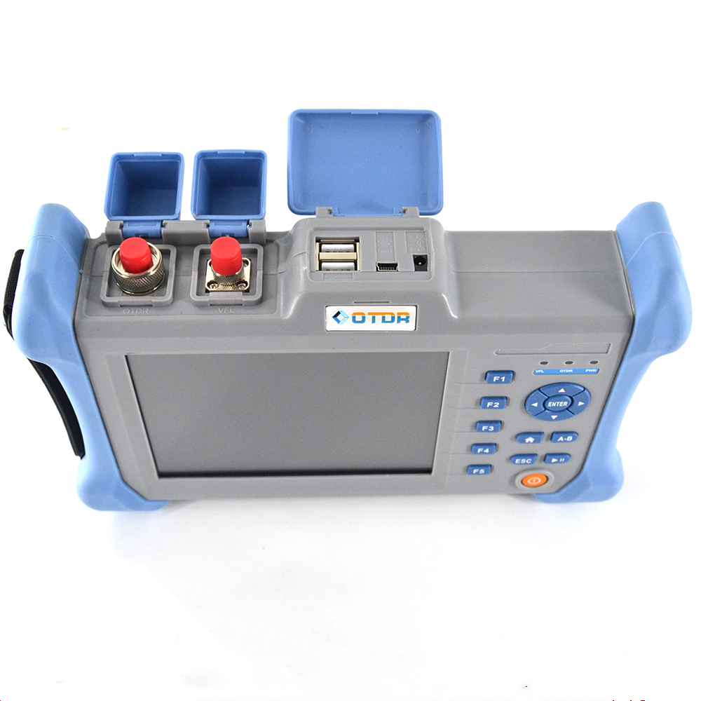 OTDR fiber tester 1310/1550nm 120km with English Espanol 30/28dB-in Fiber Optic Equipments from Cellphones & Telecommunications
