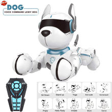 Intelligent Program RC Music Dog Toy Educational Early Education Robot Imitate a variety of animal sounds Remote Control Dog(China)