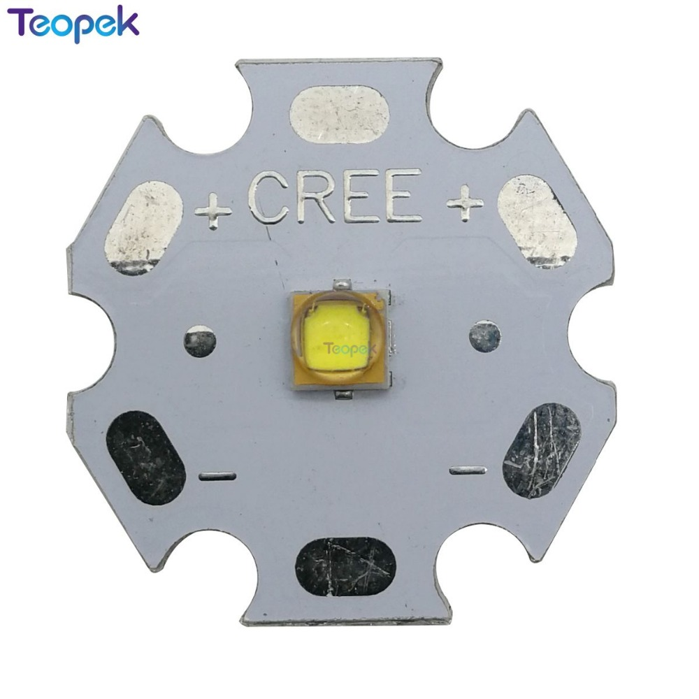 10PCS 3W 3030 Cool White 7500K High Power LUXEON Rebel Display  LED Lighting Emitter Diode On 16mm Or 20mm PCB