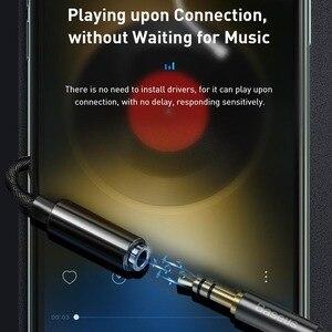Image 4 - Baseus AUX אודיו מתאם כבל עבור iPhone 11 פרו מקס XS Xr X 8 7 בתוספת מתאם OTG ממיר עבור ברק כדי 3.5mm שקע אוזניות