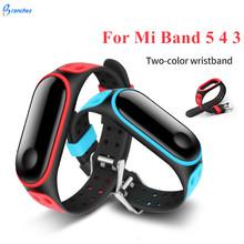 Pasek sportowy dla Xiaomi Mi Band 3 4 5 inteligentny zegarek nadgarstek M3 M4 Plus bransoletka dla Xiaomi MiBand 3 4 5 wymiana paska Miband tanie tanio branches CN (pochodzenie) Pasek na nadgarstek Dla dorosłych Wszystko kompatybilny Strap for mi band 3 for mi band 4 for mi band 5