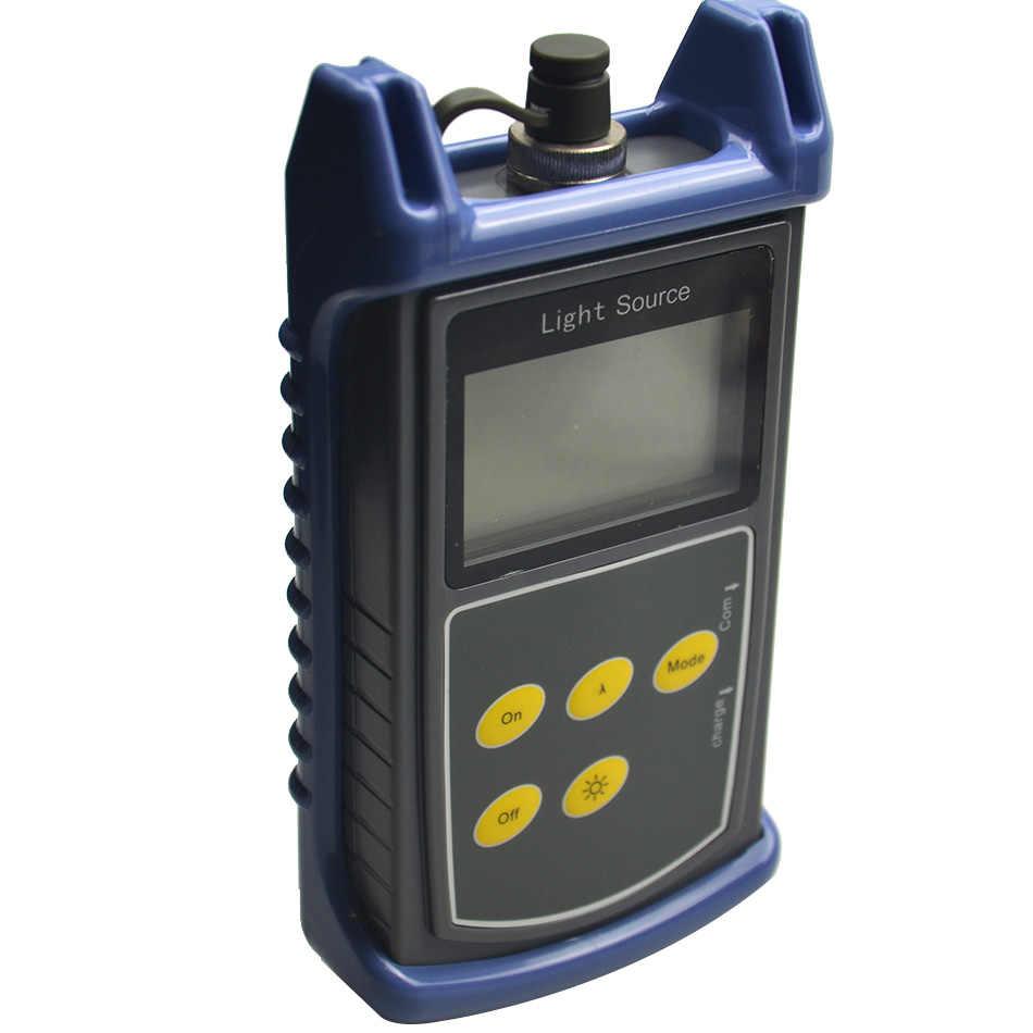 Originele Hoge Nauwkeurigheid Optische Laser Bron Sm Mm Fiber ST815 Pon/Optische Instrument Multi-Golflengte Stabiele Licht Meter