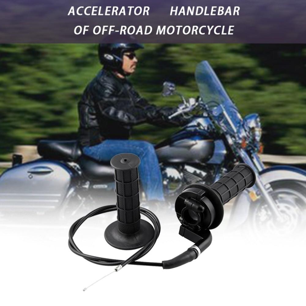 8 general 110-250CC Hand Grip Handle Bar Throttle Motorcycle throttle turn 7