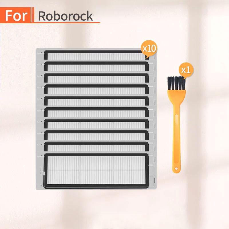 10PCS Robot Vacuum Cleaner HEPA Filter Accessories For Millet 1S 2S Roborock S50 S6 S55 Vacuum Cleaner HEPA Parts