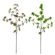 Xin ou grego modelo único garrafa japão sino murraya paniculata sete folha decoração de casa