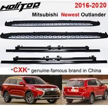 """Engrossar a barra lateral da etapa da placa running para mitsubishi outlander 2016 2020,""""cxk"""" genuíno, carga 300kg, experiências do suv de hitop 7 anos"""