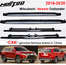 """Thicken running board side step bar for Mitsubishi Outlander 2016 2020,""""CXK"""" genuine,load 300kg,HITOP SUV experiences 7 years"""