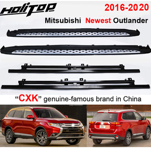 """Image 1 - Thicken running board side step bar for Mitsubishi Outlander 2016 2020,""""CXK"""" genuine,load 300kg,HITOP SUV experiences 7 years"""