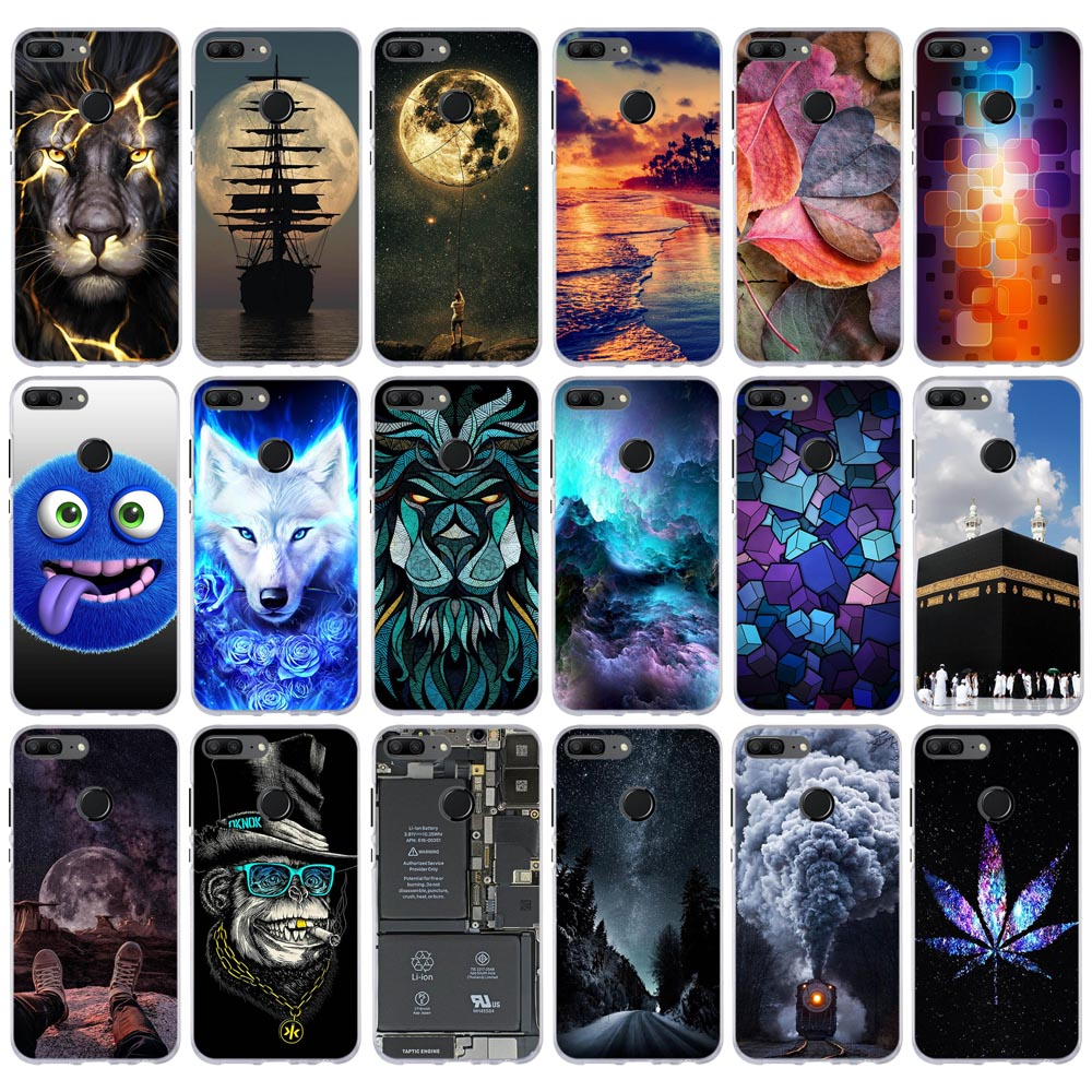 For Huawei Honor 9 Lite Case Cover For Huawei Honor 9 Lite Case Soft Silicone Cover Ultra Thin Capa For Huawei Honor9 Lite Cover