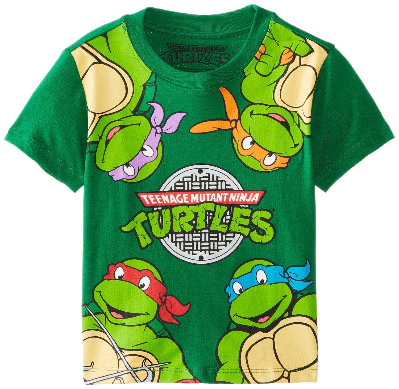 2015 Europe And America Hot Selling Teenage Mutant Ninja Turtles Cartoon KID'S T-shirt Short Sleeve Childrenswear